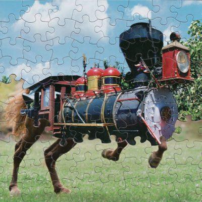 Des mixs de puzzle par Tim Klein