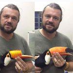 Quand un vétérinaire sauve un toucan avec une imprimante 3D