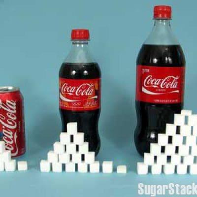 Les aliments et leur équivalent en sucre